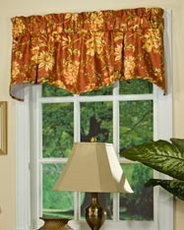 Legarno Pleated Shaped Valance