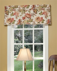 Luxuriance Tailored Insert Valance