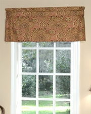 Paddock Shawl (Antique) Tailored Insert Valance
