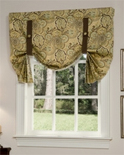 Paddock Shawl Tie Up Curtain - Spa