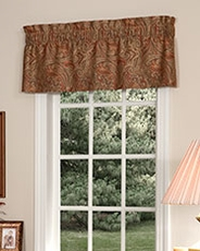 Patna Paisley Tailored Insert Valance