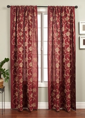 Pillaris Rod Pocket Curtain Panel
