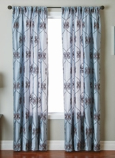 Pomezia Scroll Curtain Panel
