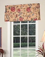 Spice of Life Tailored Insert Valance