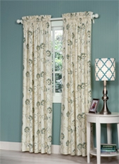 Suzette Rod Pocket Curtains