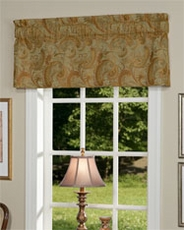 Torino Tailored Insert Valance