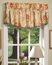 Tulips (Yellow) Mayfair Valance