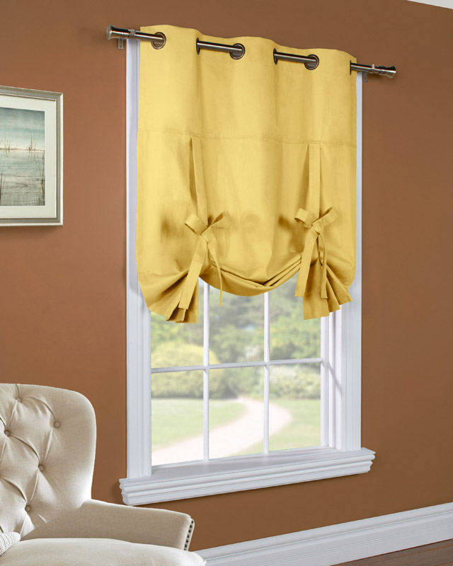 Hanging A Shower Curtain Rod JCPenney Tie Up Curtains