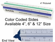 "Engineering Scale Color Coded 4"", 6"" & 12"""