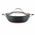 Anolon Nouvelle Copper Hard Anodized 3 Quart Nonstick Casserole