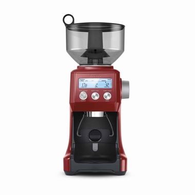 Breville BCG820CRNXL Smart Pro Coffee Grinder, Cranberry Red
