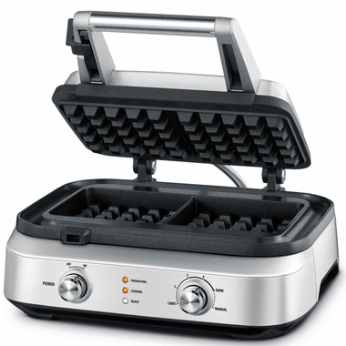 Breville BWM602BSS Smart 2 Square Waffle Maker