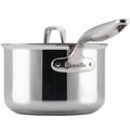 Breville Thermo Pro Clad Covered Sauce Pan, 2 Quart