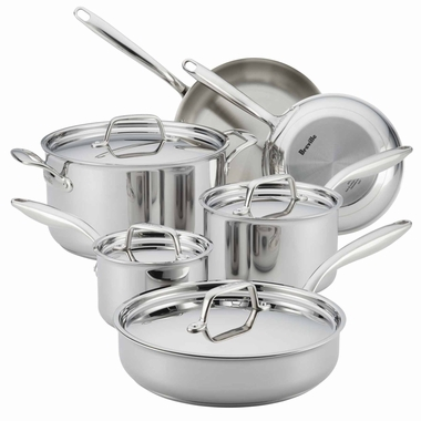 Breville Thermo Pro Clad Set, 10 Piece