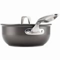 Breville Thermo Pro Hard Anodized Covered Saucier, 2.5 Quart