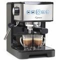 Capresso 124.01 Ultima Pro Espresso and Cappuccino Machine, Black
