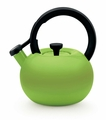 Circulon Circles 2 Quart Steel Teakettle, Kiwi Green