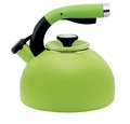 Circulon Morning Bird 2 Quart Steel Teakettle, Kiwi Green