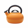Circulon Sunrise 1.5 Quart Steel Teakettle, Orange