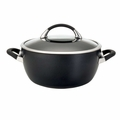 Circulon Symmetry Hard Anodized 5.5 Quart Nonstick Casserole Pan
