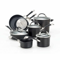 Circulon Symmetry Hard Anodized Nonstick 11 Piece Cookware Set