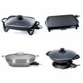 Electric Skillets & Woks
