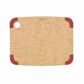 Epicurean Non-Slip Series Cutting Board, 11.5 x 9 Inch, Natural / Red