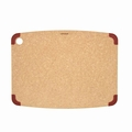 Epicurean Non-Slip Series Cutting Board, 17.5 x 13 Inch, Natural / Red