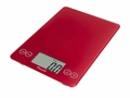 Escali 157RR Arti Glass Digital Kitchen Scale, Red