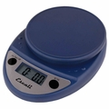 Escali Primo Digital Kitchen Scale, Royal Blue