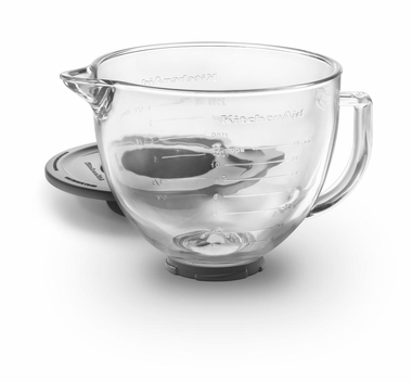 KitchenAid K5GB Stand Mixer, 5-Quart Glass Bowl with Lid