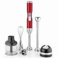 KitchenAid KHB3581CA Pro Line Hand Blender, Candy Apple Red