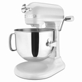 KitchenAid KSM7586PFP Pro Line Stand Mixer 7 Quart, Frosted Pearl White