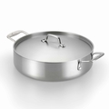 Lagostina Axia Tri Ply Stainless Steel Covered Casserole, 3 Quart