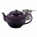 Le Creuset Large Teapot with Steel Infuser, Cassis Purple