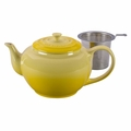 Le Creuset Large Teapot with Steel Infuser, Soleil Yellow