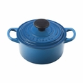 Le Creuset Signature Cast Iron 1 Quart Round French Oven, Marseille Blue