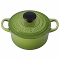 Le Creuset Signature Cast Iron 1 Quart Round French Oven, Palm Green