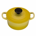 Le Creuset Signature Cast Iron 1 Quart Round French Oven, Soleil Yellow