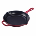 Le Creuset Signature Cast Iron 10.25 Inch Skillet, Cherry Red
