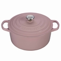 Le Creuset Signature Cast Iron 4.5 Quart Round Dutch Oven, Hibiscus Pink