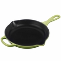 Le Creuset Signature Enameled Cast Iron 9 Inch Skillet, Palm Green