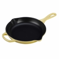 Le Creuset Signature Enameled Cast Iron 9 Inch Skillet, Soleil Yellow
