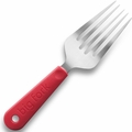 New Soda Big Fork Serving and Cooking Utensil, Red