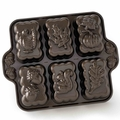Nordic Ware Platinum Harvest Mini Loaf Cake Pan