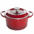 Nordic Ware Pro Cast Traditions Dutch Oven, 3 Quart, Cranberry