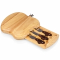 Picnic Time Legacy Apple 10.5 Inch Cheese Board - Tool Set