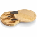 Picnic Time Legacy Brie 7.5 Inch Cheese Board - Tool Set