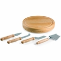 Picnic Time Legacy Circo Cheese Board with Cheese Tools