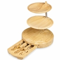 Picnic Time Legacy Regalio 11.5 Inch Cheese Board - Tool Set